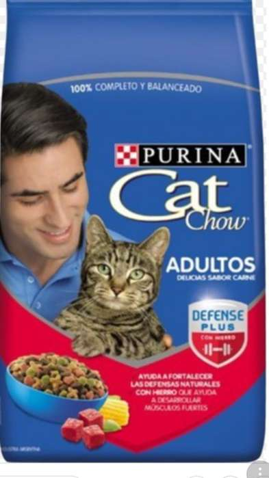 Cat Chow Carne X 8 Kls