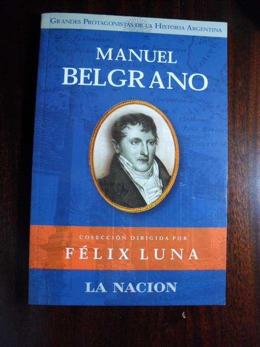 MANUEL BELGRANO COLECCIÓN DIRIGIDA POR FELIX LUNA 155 PAGINAS
