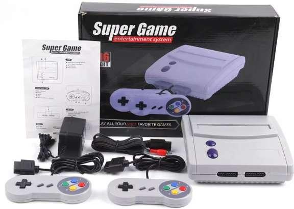 Consola Retro Arcade Super Game 16 BIT System 64 juegos incorporarad