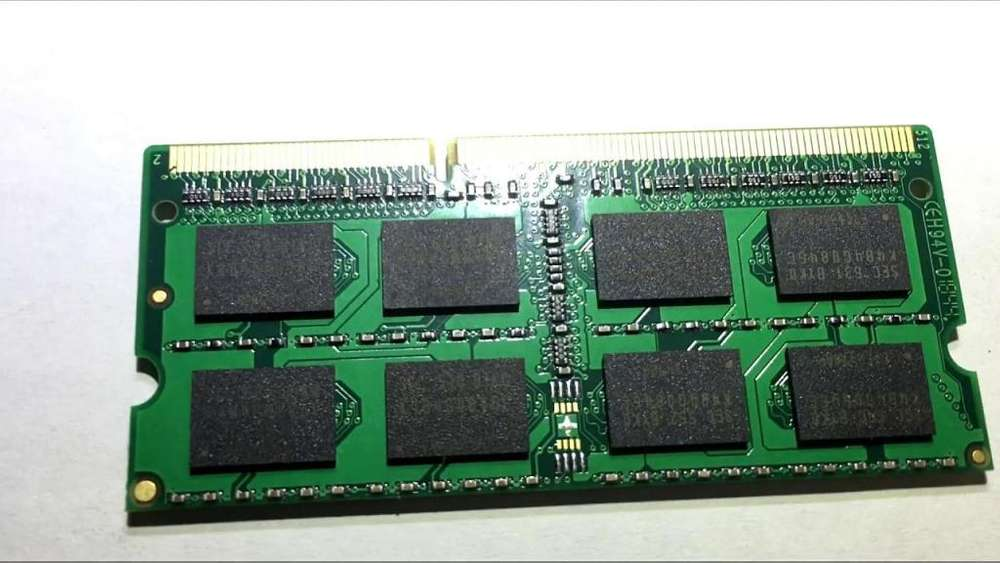 <strong>memoria</strong> ram ddr3 8gb de laptop