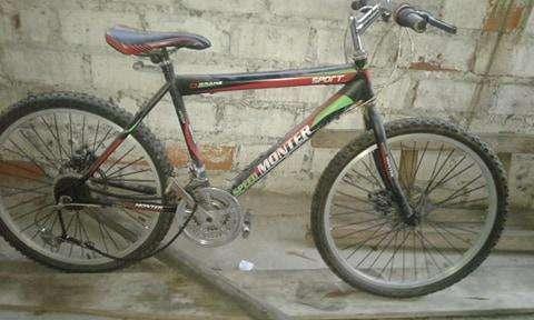 Bicicleta montañera muy barata