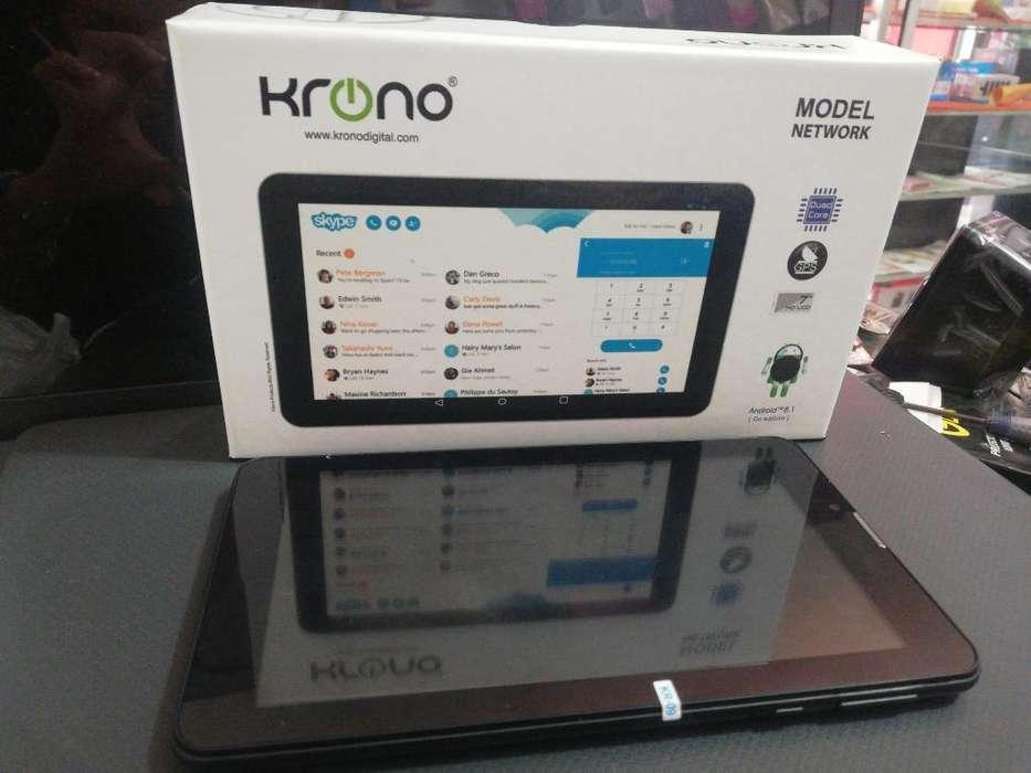 Tablet Krono Nueva con Garantía