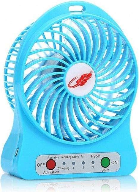 Mini <strong>ventilador</strong> Personal Recargable Portátil Para Mesa