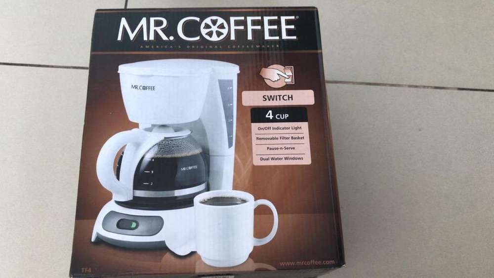 <strong>cafetera</strong> Mr Coffee Nueva