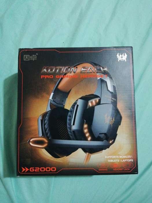 Vendo Diademas Gaming (kotion Each)