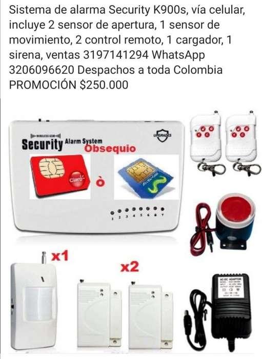 Alarma de seguridad K900S