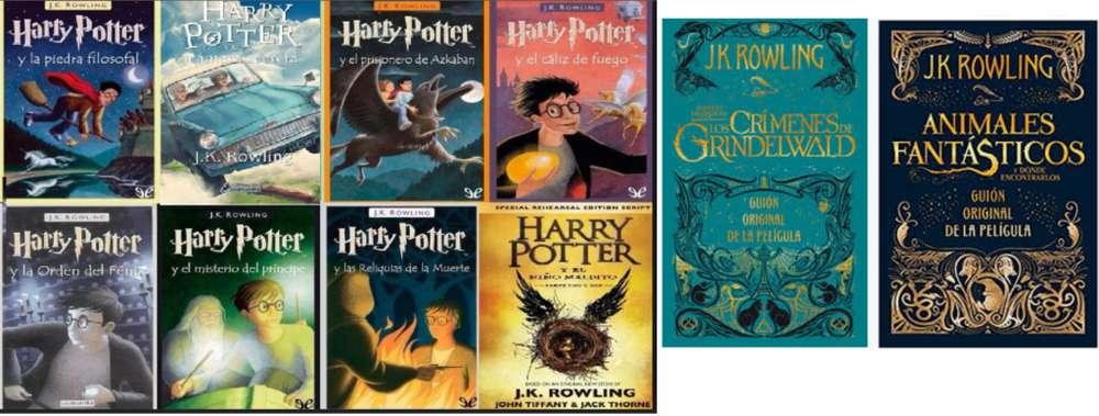 Colección Harry Potter x 10 libros mas obsequios y Envio a toda Colombia