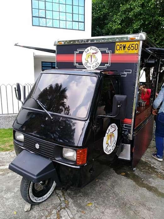 Food Truck Piaggio Equipada
