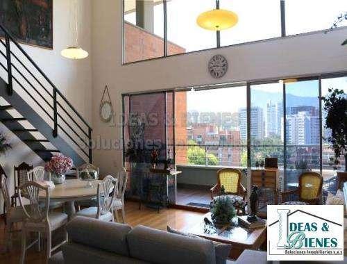 Apartamento Amueblado En Arriendo Medellín Sector Los Balsos: Código 757310
