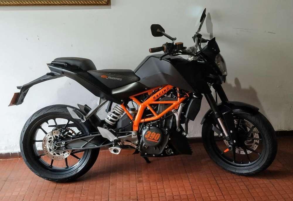 Ktm Duke 390 Black