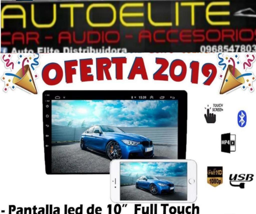 Radio Pantalla Androide Universal 10plg