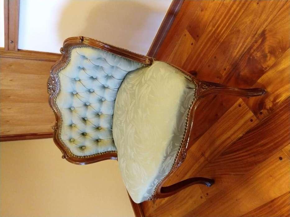 sillon luis XV de decoracion
