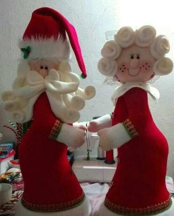 Muñecos Decorativos Navideños para Hogar