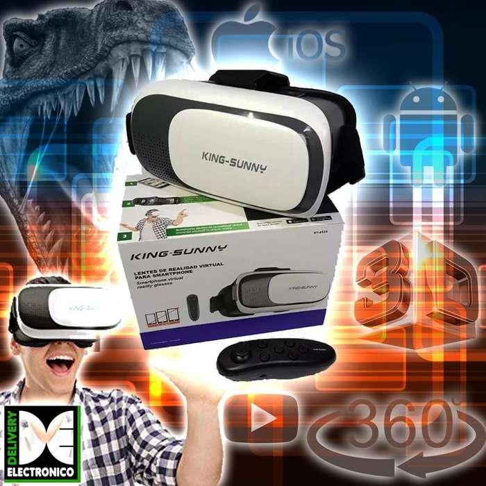 Lentes de Realidad Virtual Celulares