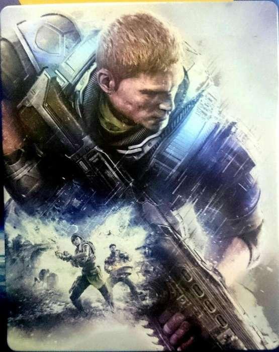 Vendo Gears Of War 4 Edición Especial