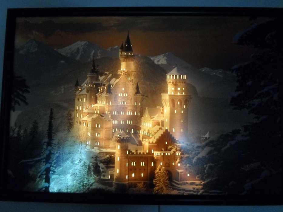 Cuadro luminoso Castillo Neuschwanstein