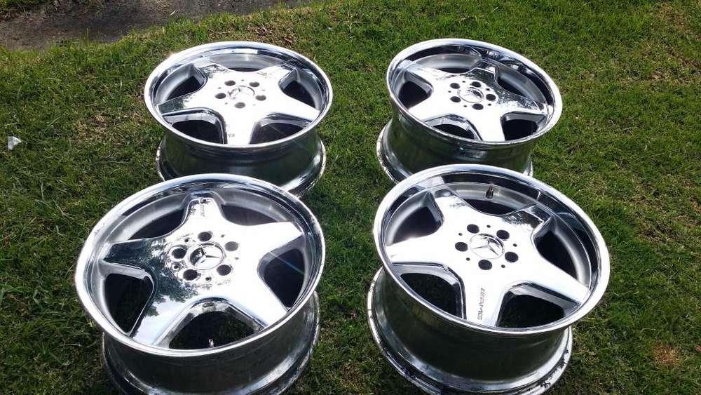 Rines Cromados Mercedes Benz AMG 18 Originales