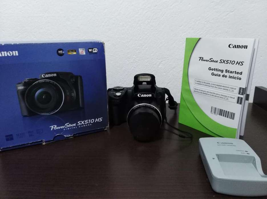 Canon Sx510 Hs Wifi, <strong>gps</strong>, Full Hd