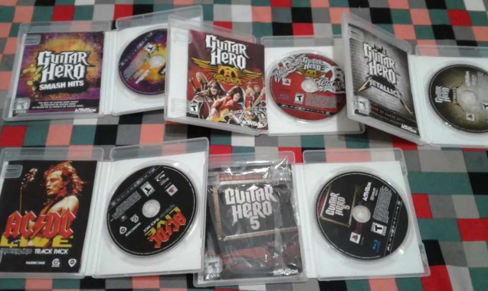 Juegos Guitar Hero Y Rock Band Acdc Fisicos Ps3 - Play 3