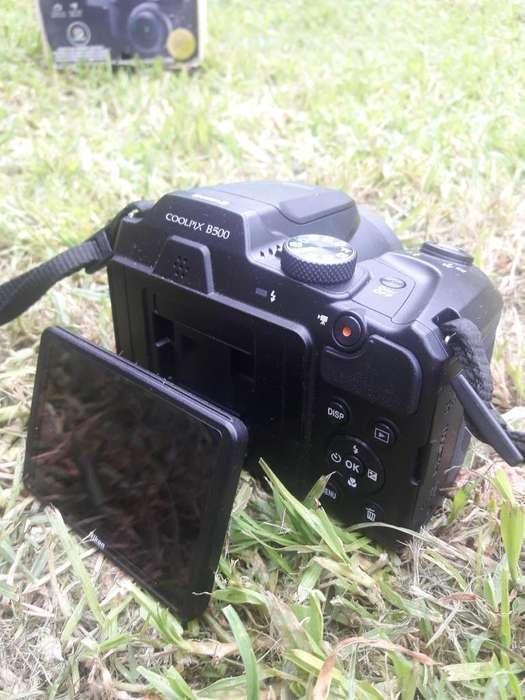 Camara Nikon Coolpix B500 Tripode