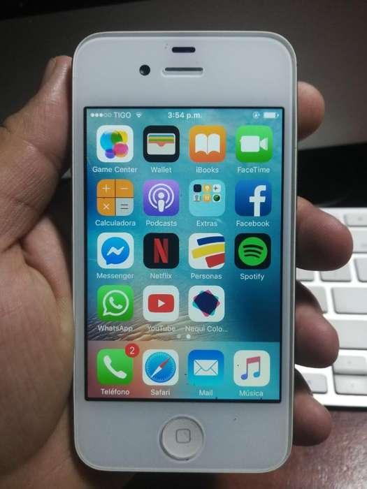iPhone 4s de 16 Gb Buen Estado