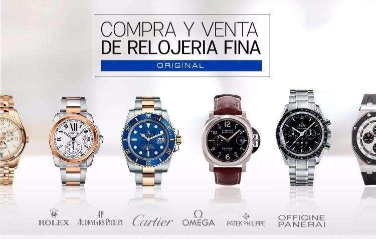 COMPRA Y VENTA de Relojería fina ORIGINALES: Rolex, Cartier, AP, omega, Patek Philippe etc