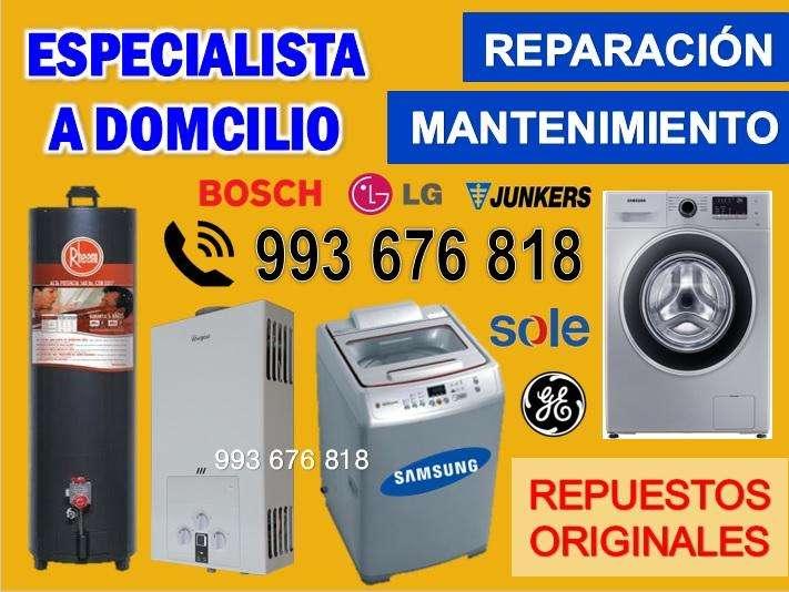 MANTENIMIENTO Y REPARACION DE LAVADORAS; SECADORAS; 993 676 818