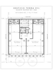Alquiler OFICINA Edif. Terra VIII en Zona Tribunales, Calle Duarte quiros