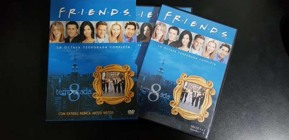 Friends Temporada 8 Completa Español Dvd Original Coleccion