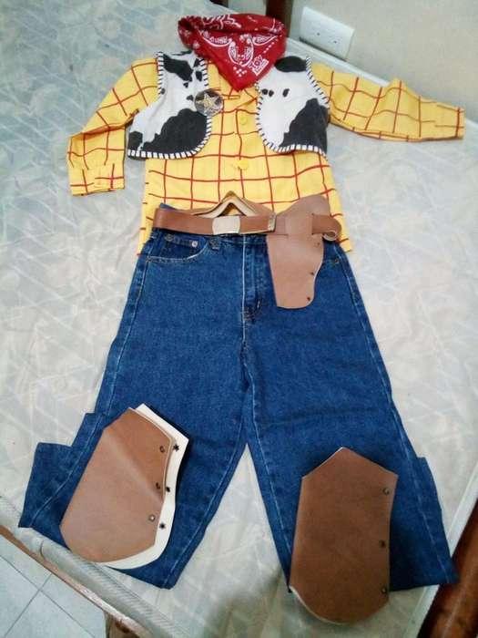disfraz de woody toy story