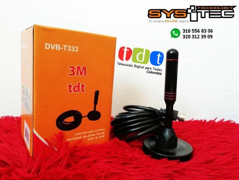 Antena Tv Televisión Digital Terrestre Tdt Dvb-t2