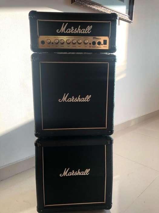 Amplificador Marshall Cabezote Cabina