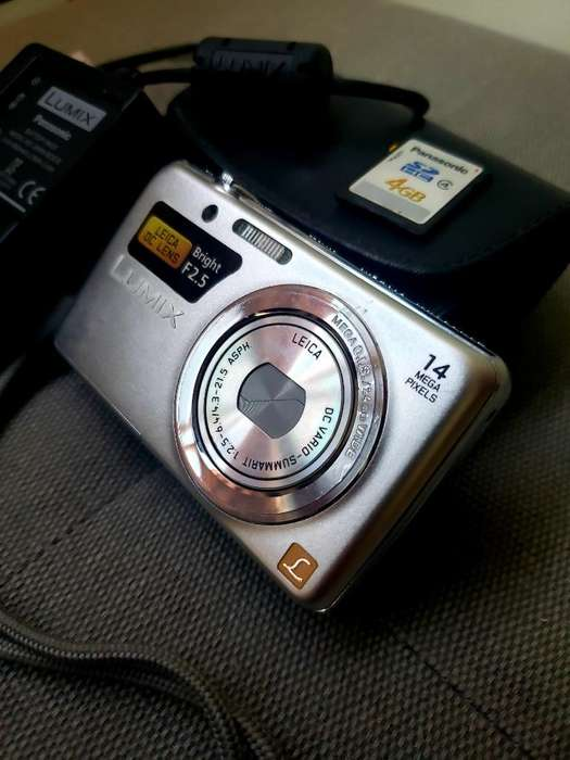 Camara Lumix Panasonic Dmc-fh6