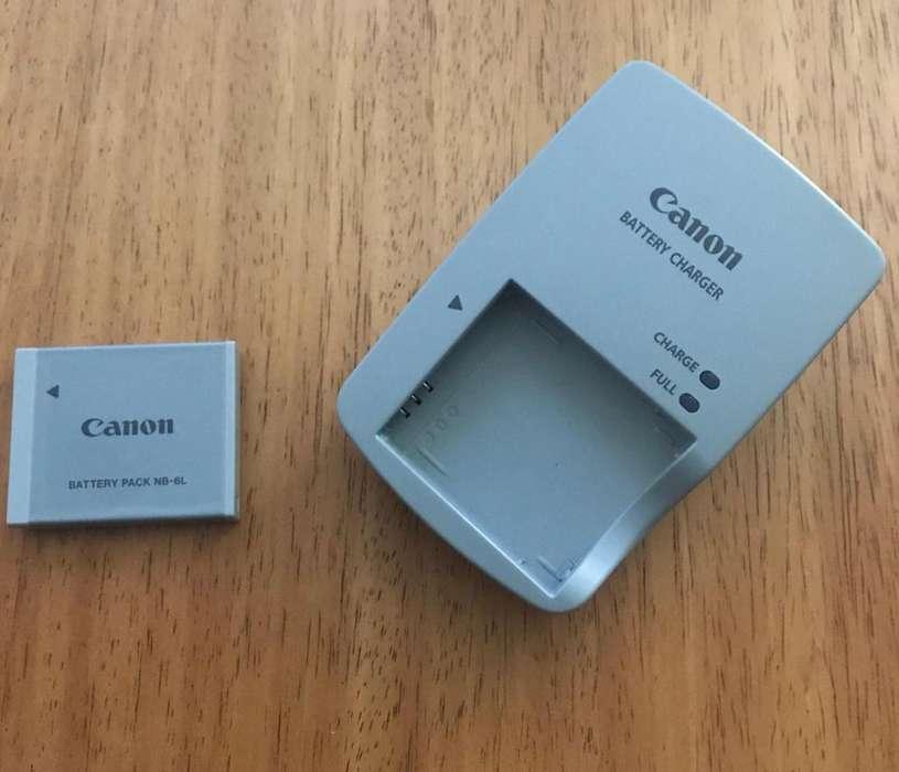 <strong>pila</strong> Y Cargador Canon