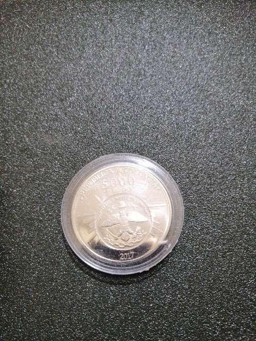 Moneda Conmemorativa 5000 Pesos