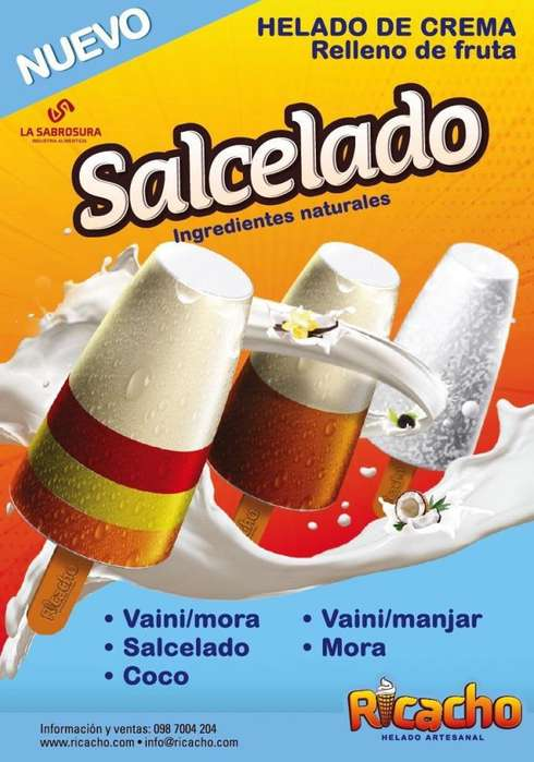HELADO SALCEDO EXPORT