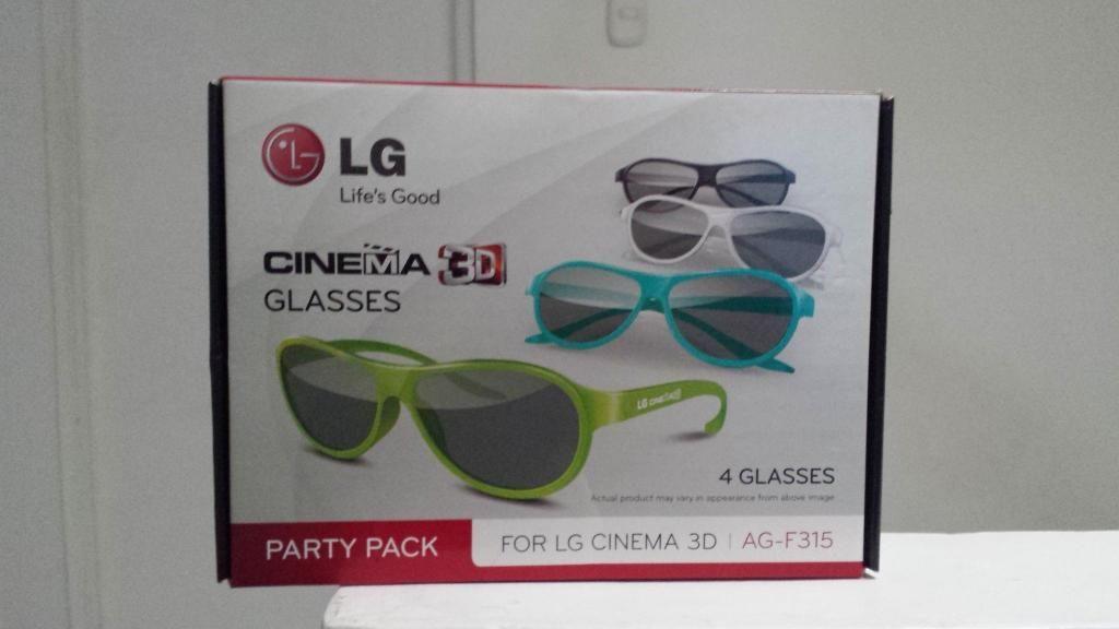 c1b15143a3 Oferta 4 Pares De Gafas 3D Pasivas Con Lentes Polarizados - Barranquilla