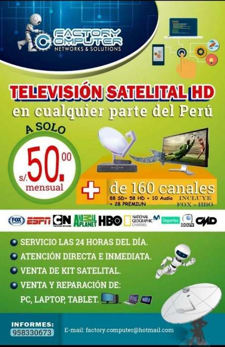 Cable Tv Satelital