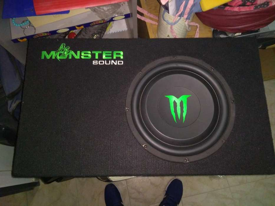 Woofer Chato Monster Potencia