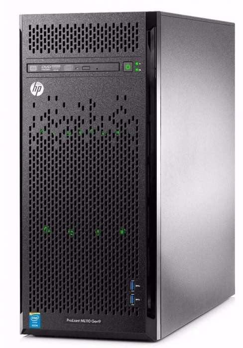 Servidor Hp Proliant Ml110 Gen9,intel Xeon E52603v3,8gb,2tb
