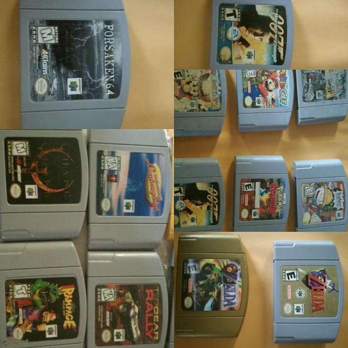 Cartuchos Juegos N64 Nintendo Remate