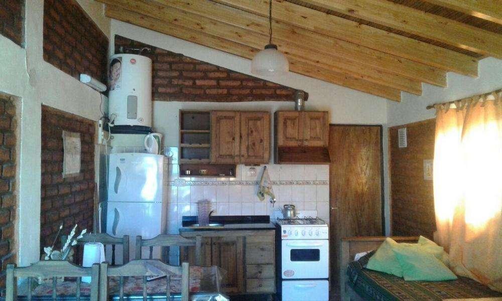 sp70 - Cabaña para 2 a 6 personas con cochera en Potrerillos