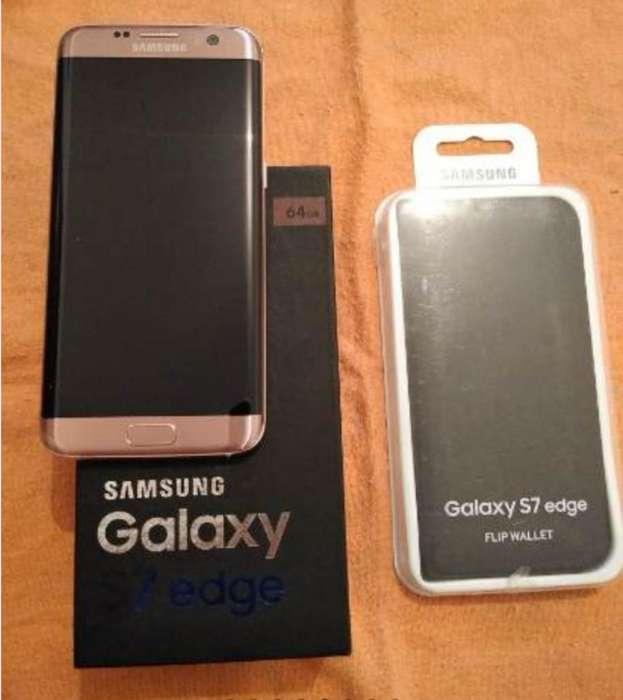 Samsung S7 Edge Pink 64 Gb 4 Ram Edic.li