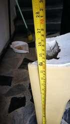 Pedestal para Lavamanos
