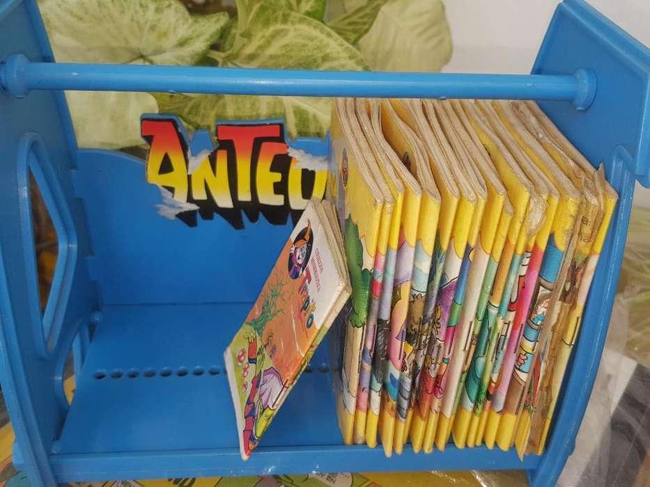 Biblioteca Antejito con 20 Libritos Cole