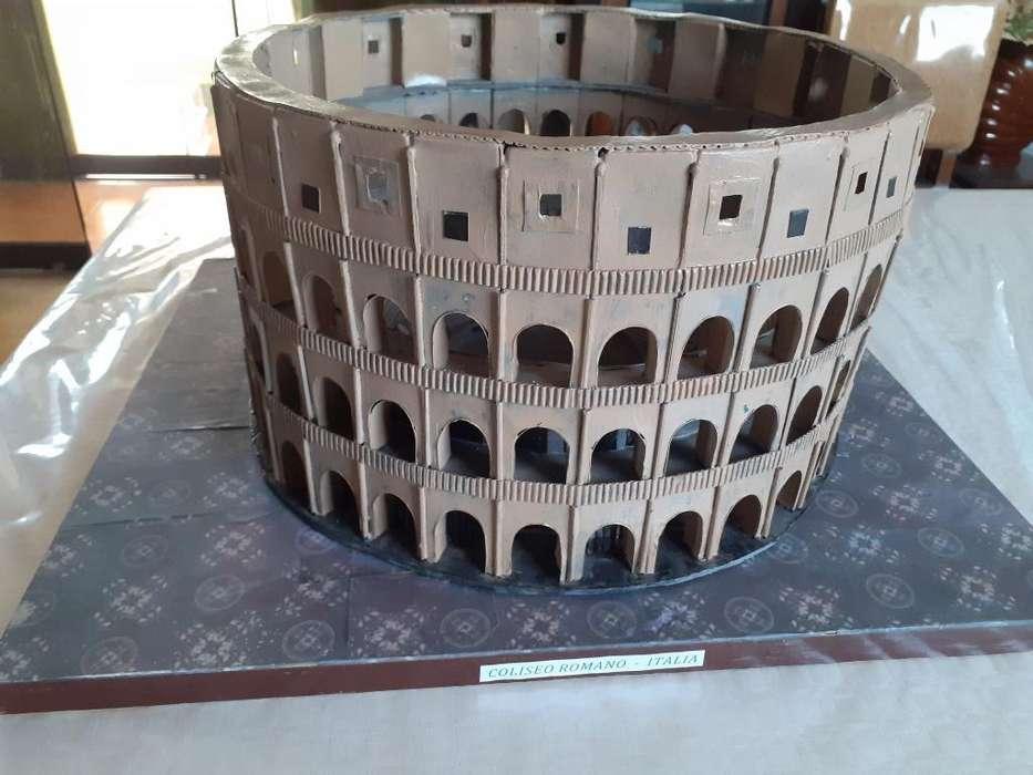 Maqueta de Coliseo Romano