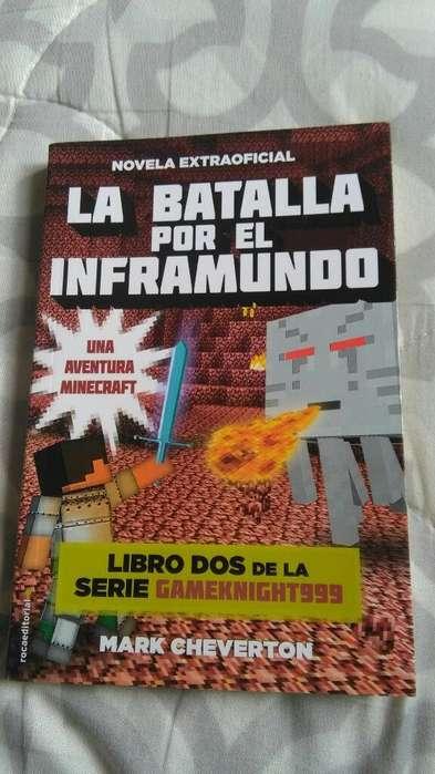 La Batalla Por El Inframundo Minecraft LIBRO Novela Mark Cheverton