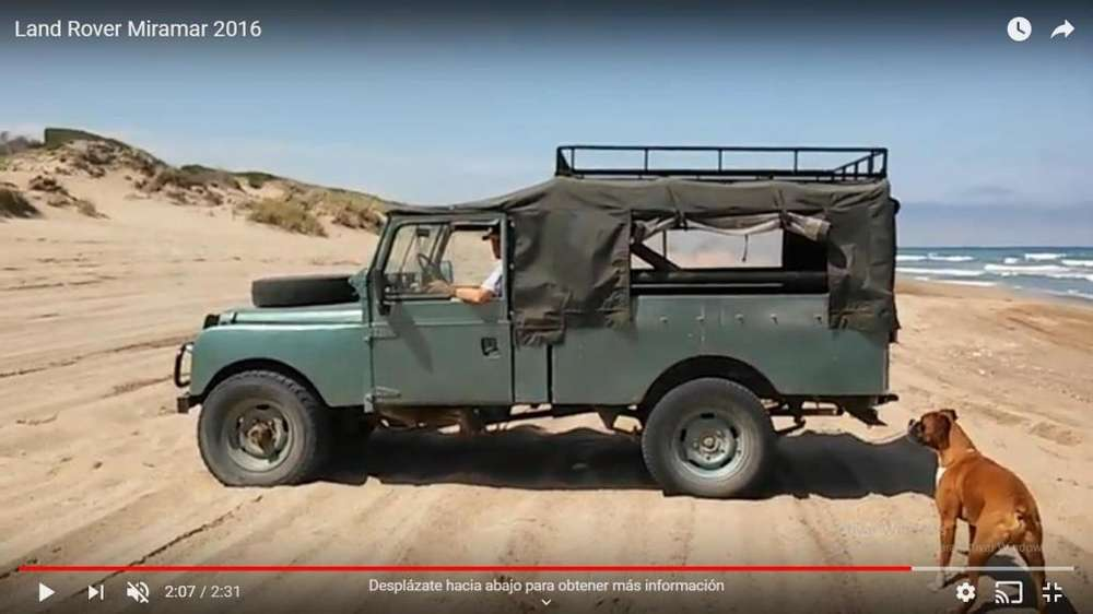 Land Rover Defender 1955 - 1000 km