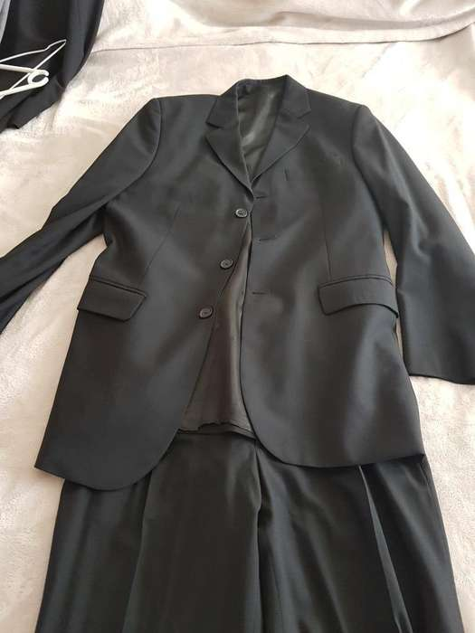 <strong>traje</strong> Mancini Negro Talle S