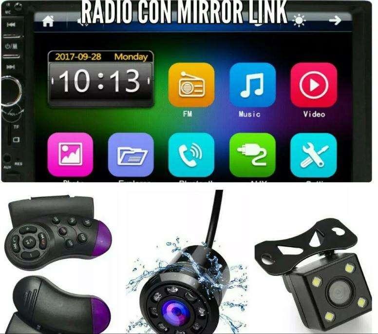 Radio de carro 2din tactil